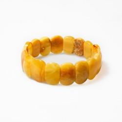 Armband Gelbocker undurchsichtige Bernstein