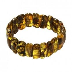 Bracelet femme tout ambre couleur vert