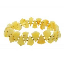 White amber woman bracelet