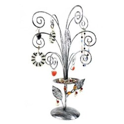 Jewelry Display Stands Jewelry Holder, Gray