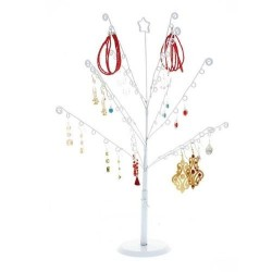 Tree jewelry 14 branches, White