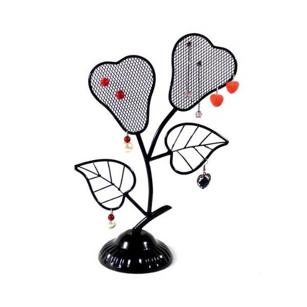 Jewelry Tree Display Stands, Black