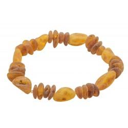 Bracelet d'ambre adulte brut