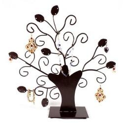 Tree display holder jewelry deco, rust patina