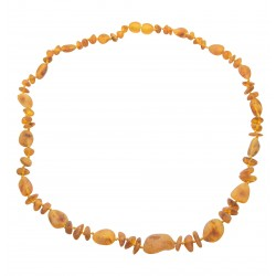 Amber Necklace Adult raw honey