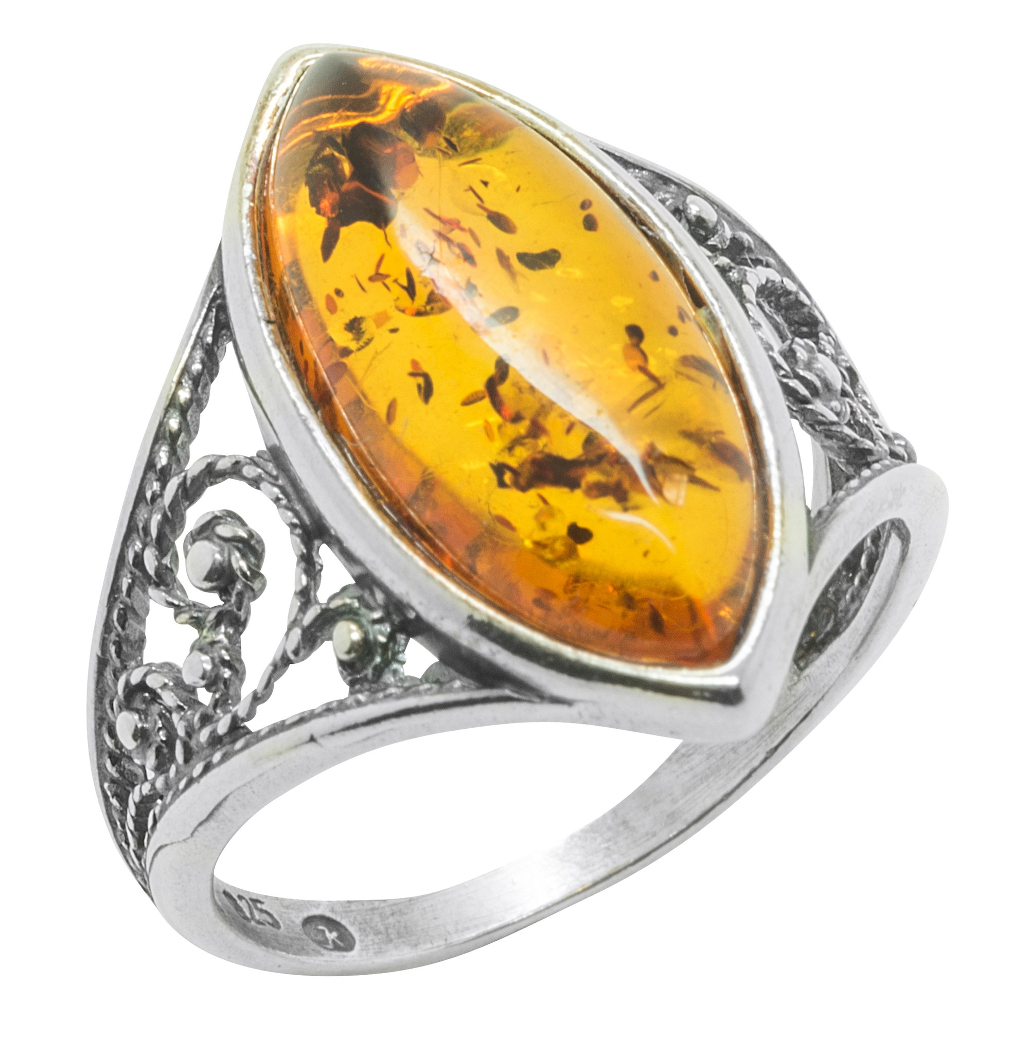 by ring rustic opal buy sterling rings a hammered hand opa made silver crazyassjewelry engagement custom amber welo blue band