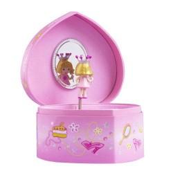 Trousselier-corazón caja de princesa. decoración