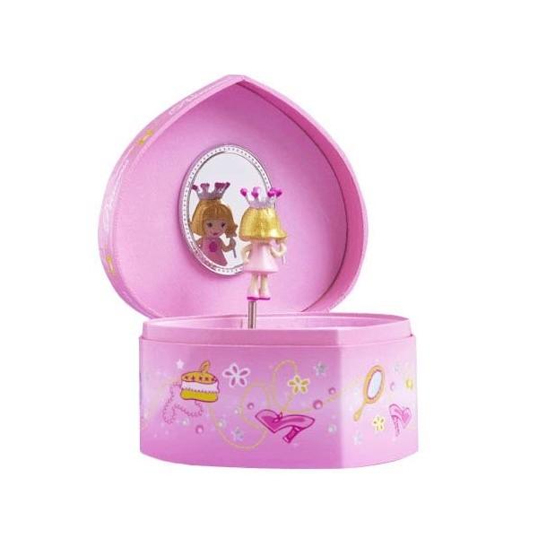 Trousselier-Coffret coeur princesse. décoration