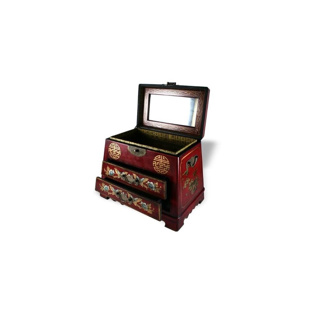 Boite a bijoux chinoise bijoux d 39 ambre - Boite a bijoux boucle d oreille ...