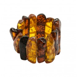 Honey and cognac amber ring