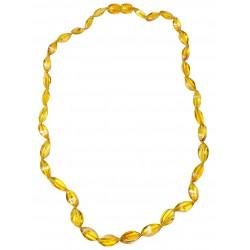 Baltischen Bernstein erwachsene elegant honigfarben Perle