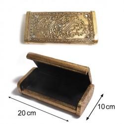 Paris SG una caja de joyería de madera Mujeres Dore