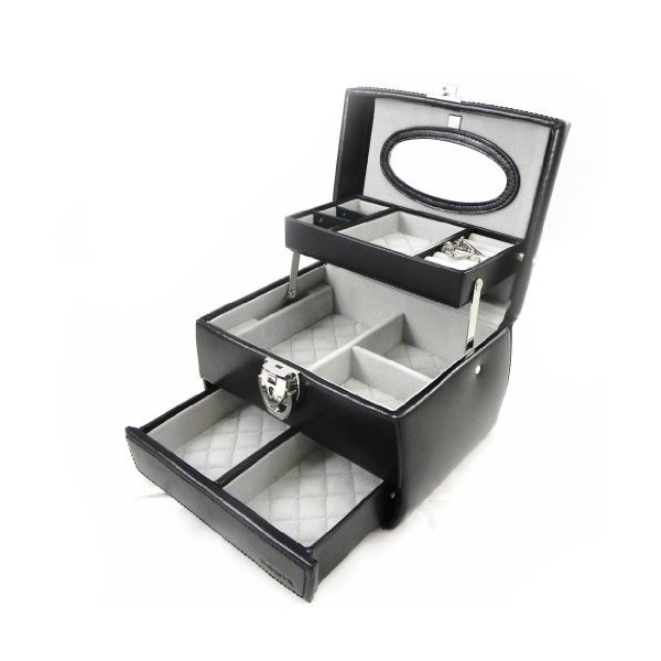 "Schmuck Box Leather ""Acapulco PM"" Black"