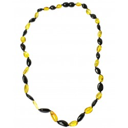 Adult Amber pearl lemon and cherry necklace