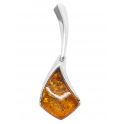 Pendant in Amber and Silver 925/1000