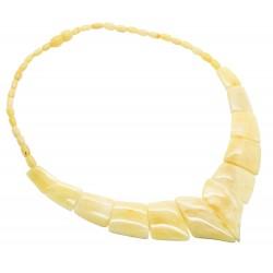 Collier d'ambre royale (ambre blanc)