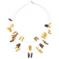 Bernstein erwachsene Multicolor Stein Halskette
