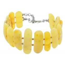 Grande braccialetto ambra naturale Reale
