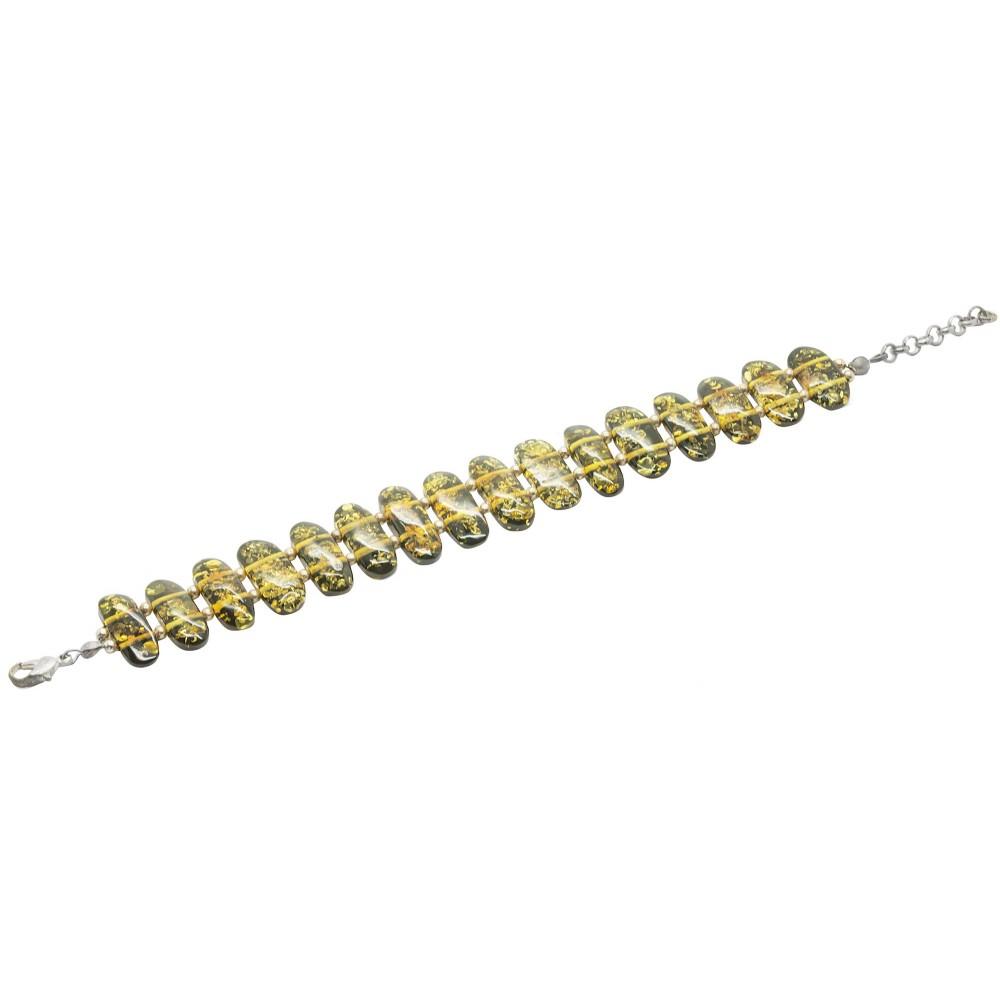 green amber bracelet bijoux d 39 ambre. Black Bedroom Furniture Sets. Home Design Ideas