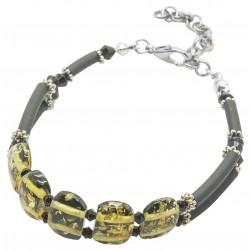 Lolita green amber bracelet