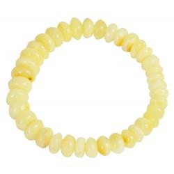 Bracelet ambre royal avec perle d'ambre baroque