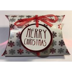 "Box Weihnachten Kissen ""Merry Christmas"""