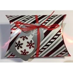 """Weihnachten Kissenbox """"Weihnachtskugel"""""""
