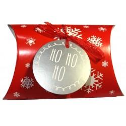 "Weihnachten Kissenbox ""Ho, Ho, Ho"""