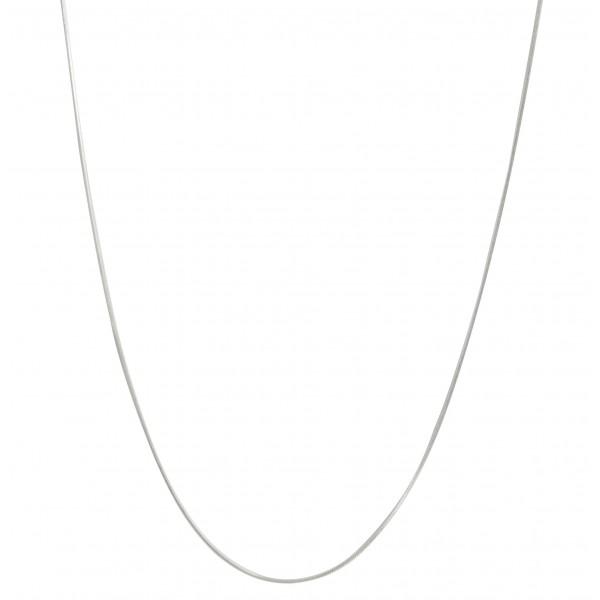 Chaîne Argent 925/1000 Maille Serpent, 1 mm