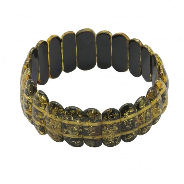 Bracelet d'ambre vert
