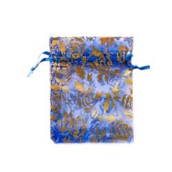 纱袋粉蓝色装饰