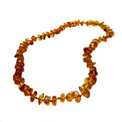 Baby honey amber necklace