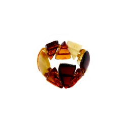 Ring all amber multicolored