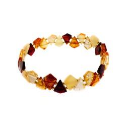 multicolor pulsera ambarina