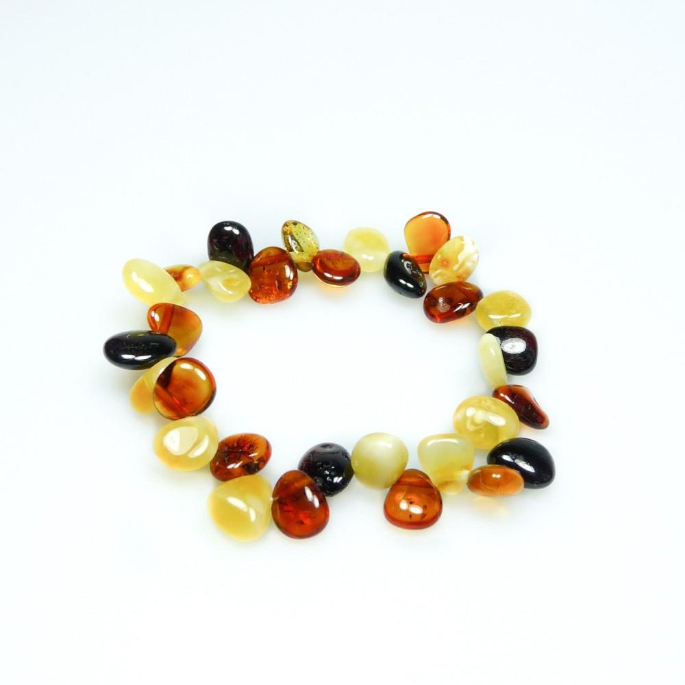 bracelet ambre b b multicolore avec p tale d 39 ambre. Black Bedroom Furniture Sets. Home Design Ideas