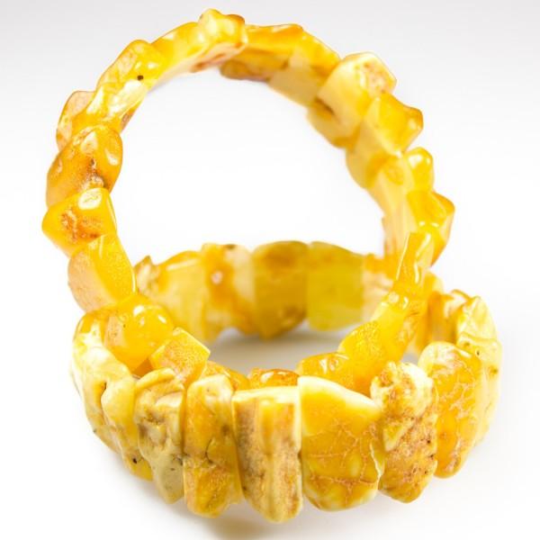 Bracelet d'ambre royal brut