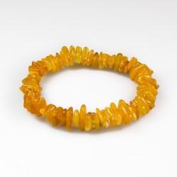 Simple adult amber bracelet